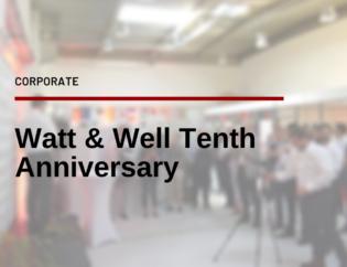 Tenth Anniversary of Watt and Well with Amelie de Montchalin Nicolas Samsoen